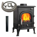 Arch 5 Multifuel Stove with Installation Kit